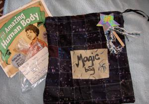 Magic bag with tricks