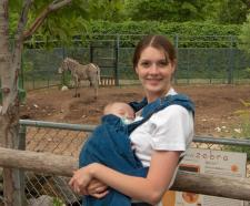 the Zebra (and a kangaroo!) :)
