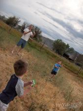 Boys and Kites